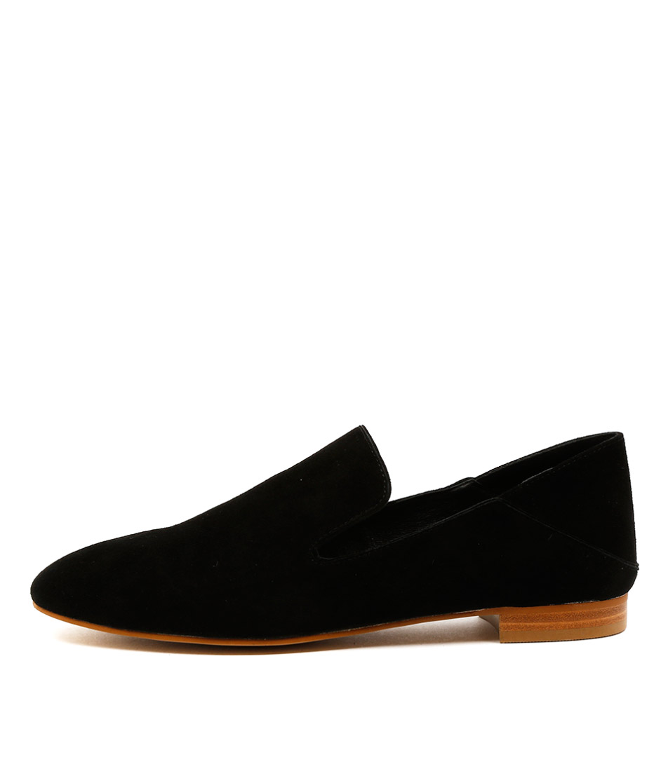 Top End Sasso Black Flats