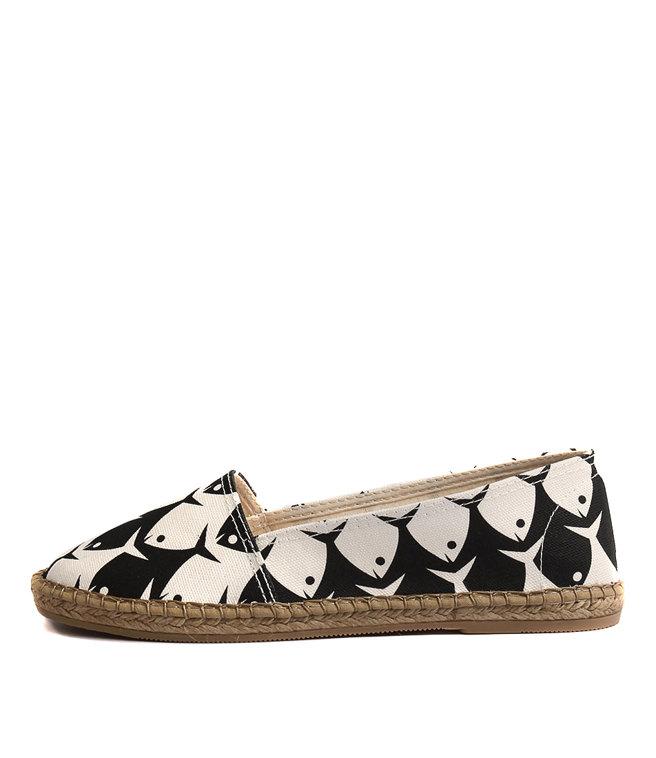 Sofia Cruz Dama 259 Sc Peces (Fish) Flat Shoes