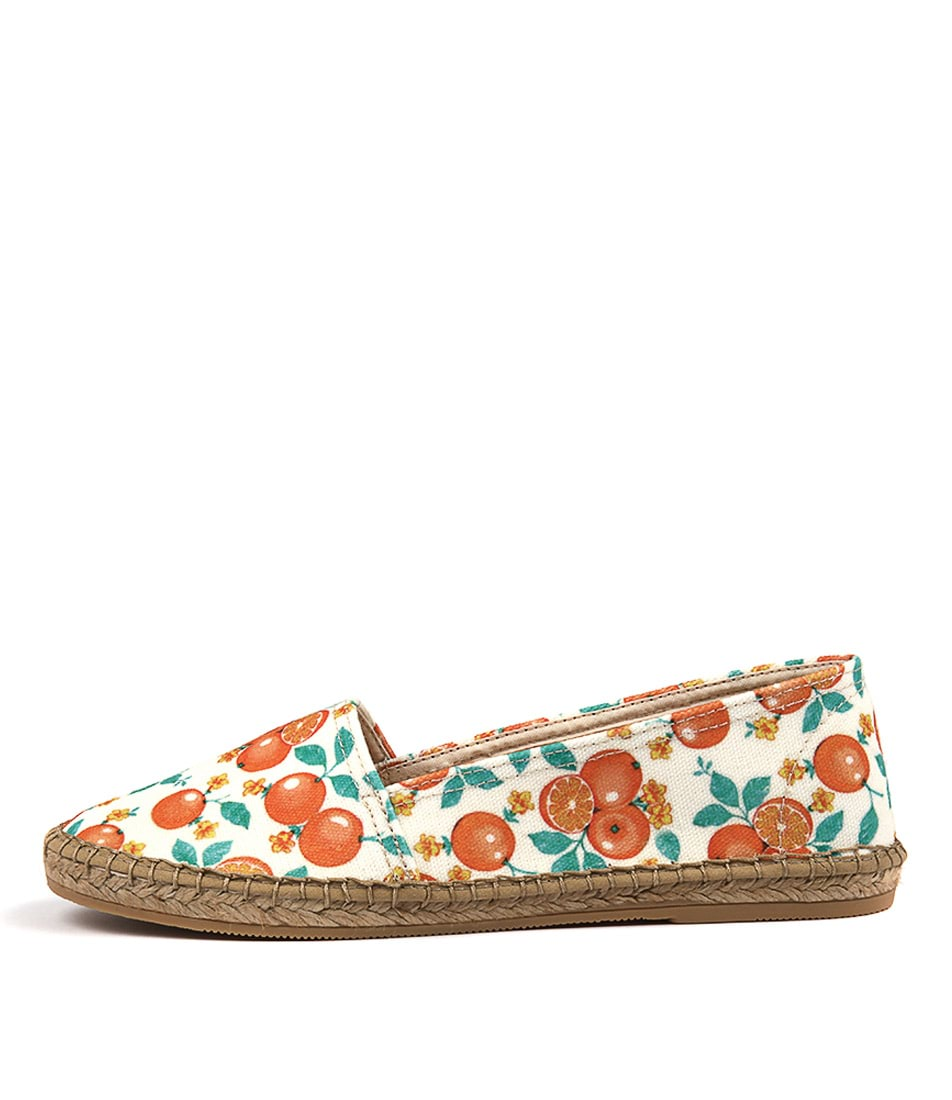 Sofia Cruz Dama 259 Sc Naranja (Orange) Flats