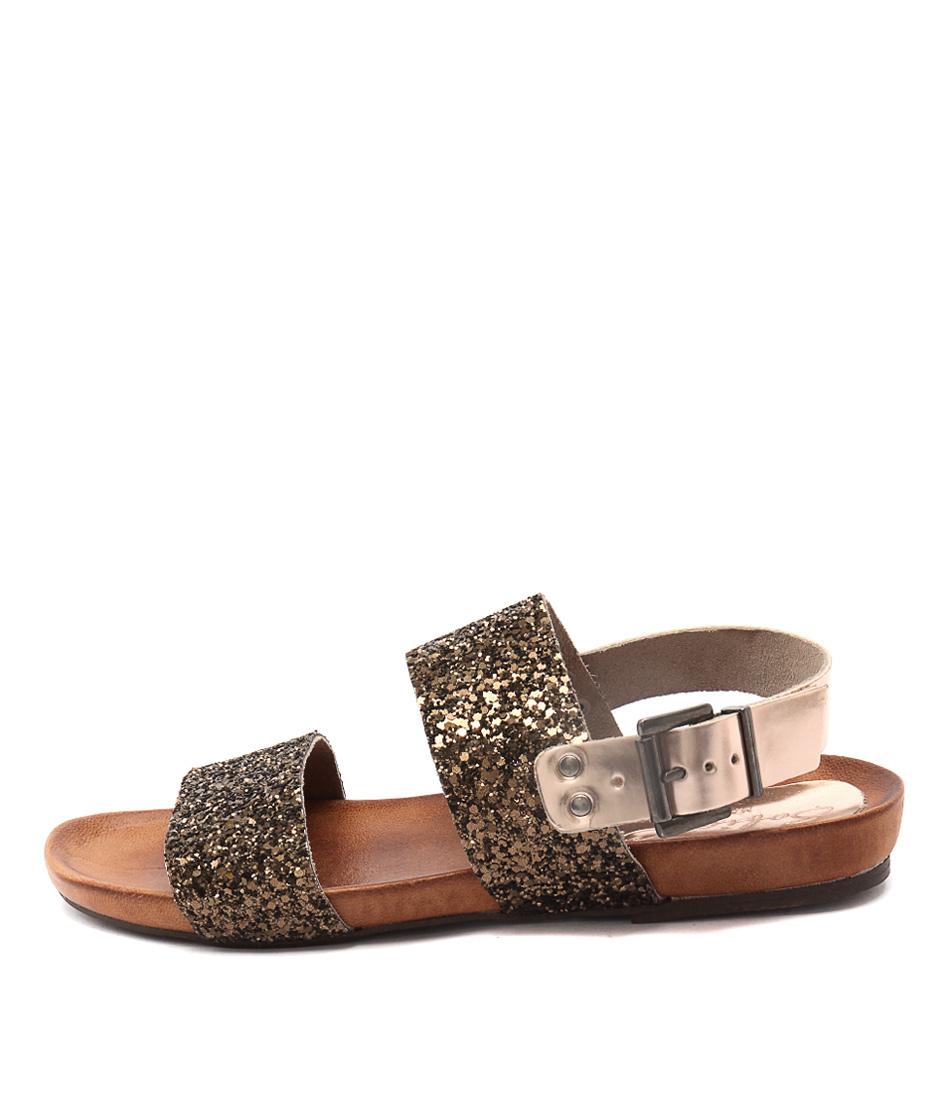 Sofia Cruz Marcellino Espejo Cipria G Flat Sandals