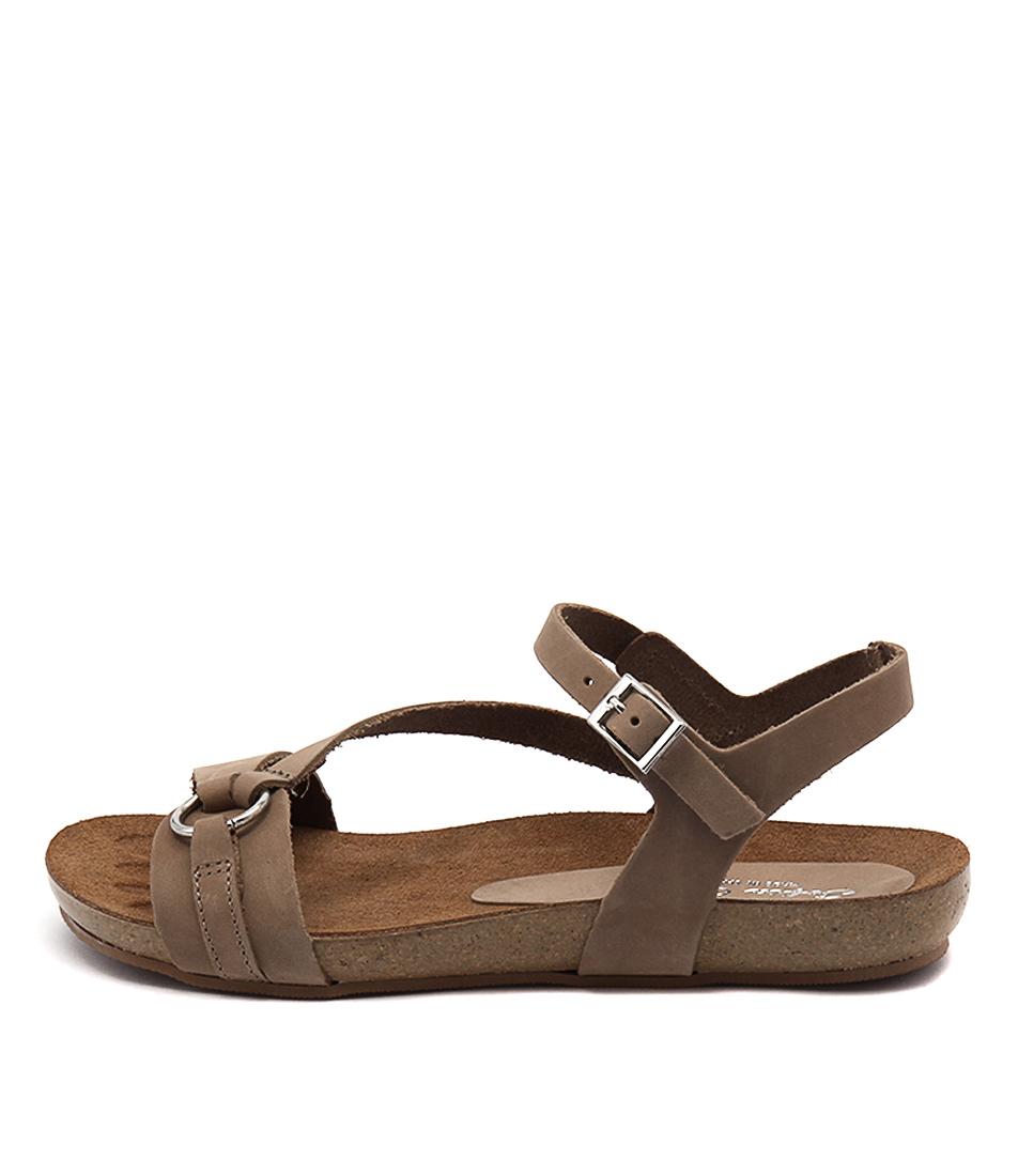 Sofia Cruz Yianna Taupe Sandals