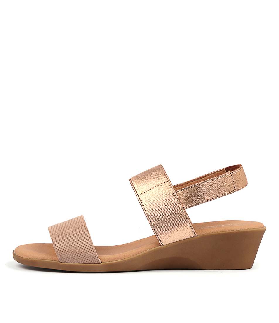 Buy Sofia Cruz Lucena Nude Heeled Sandals online with free shipping