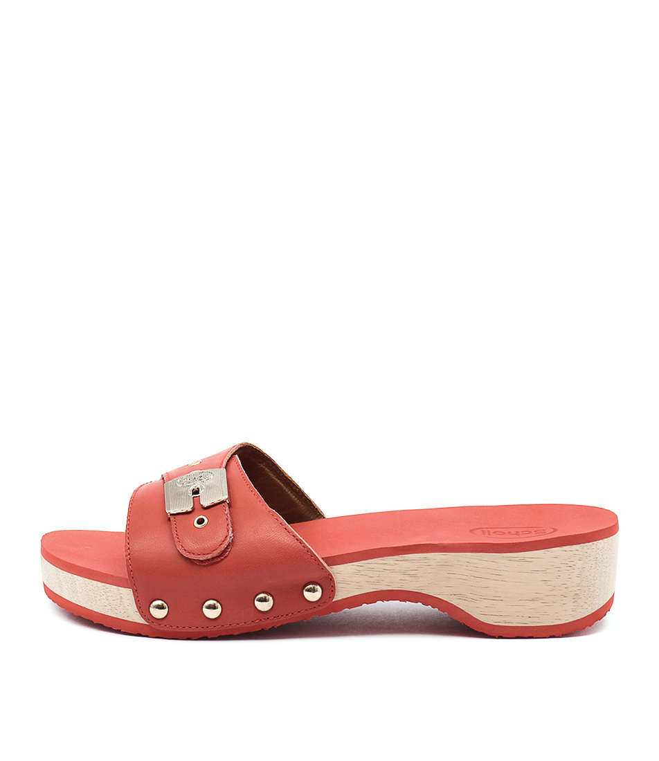 Scholl Paramount Tangerine Casual Heeled Sandals