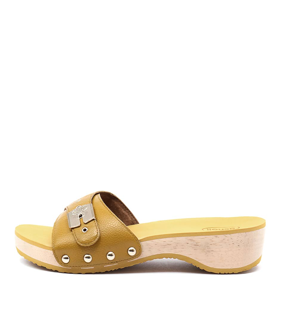 buy Scholl Paramount Yellow Martini Heeled Sandals shop Scholl Sandals online