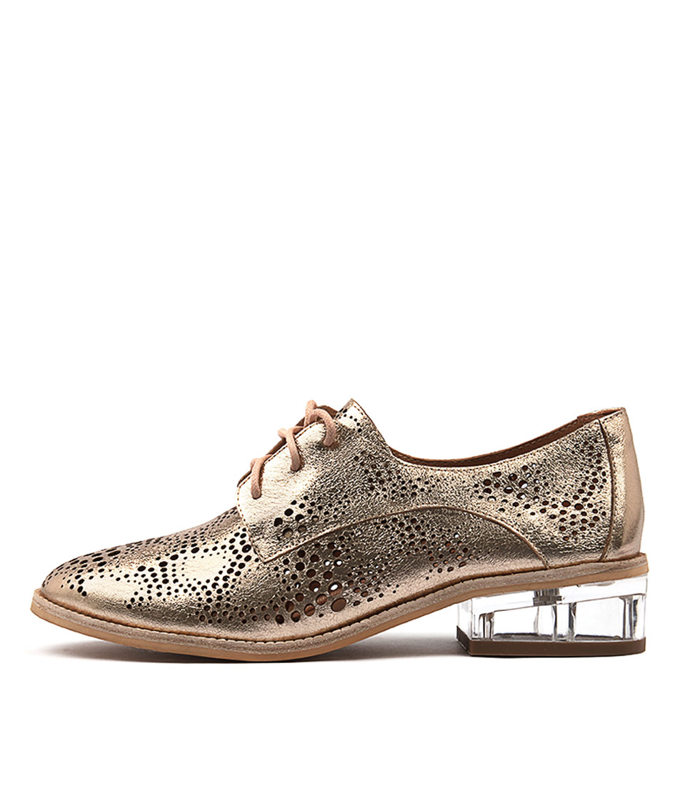 Silent D Baclav Rose Gold Shoes