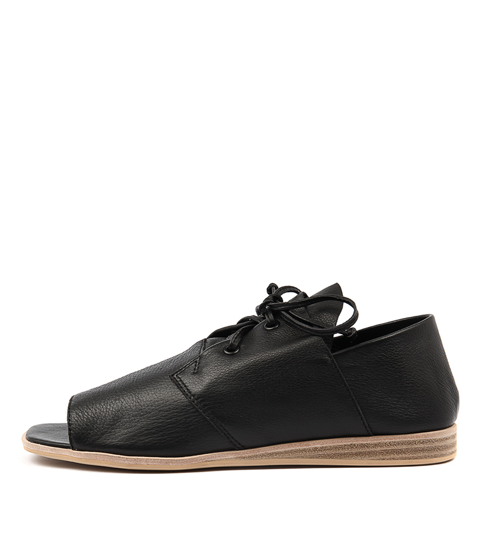 Silent D Giga Black Natural S Sandals