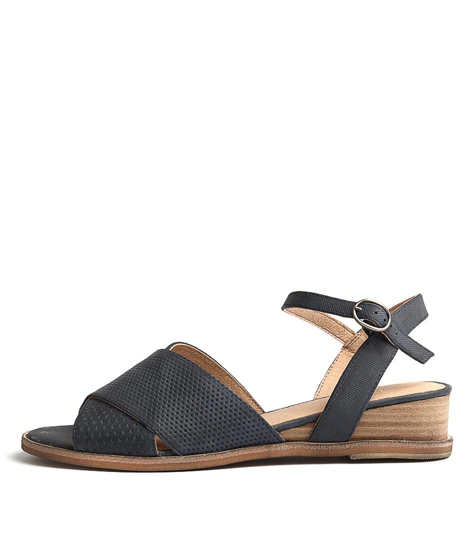 Silent D Gogon Navy Sandals