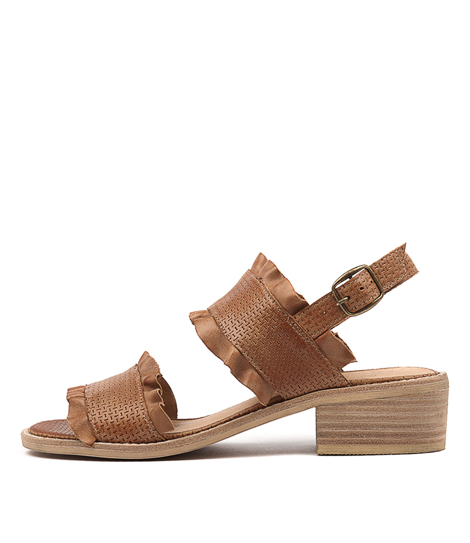 Silent D Idalia Tan Heeled Sandals