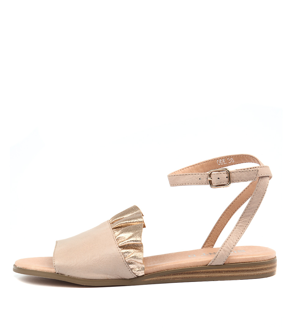 Silent D Ode Pale Pink Rose Gold Sandals