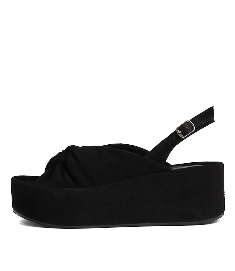 Buy Silent D Pepi Black Heeled Sandals online with free shipping