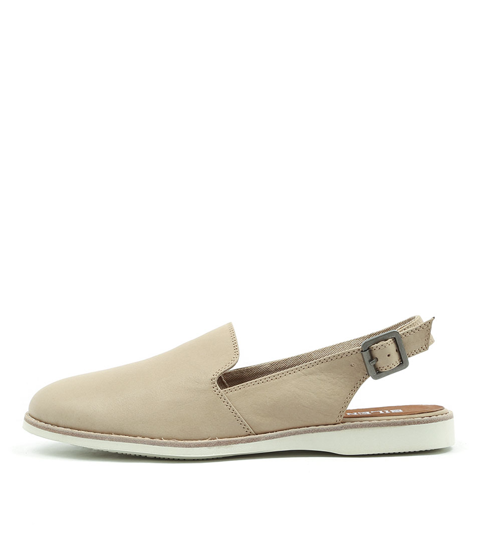 Silent D Nosh Latte Flat Shoes