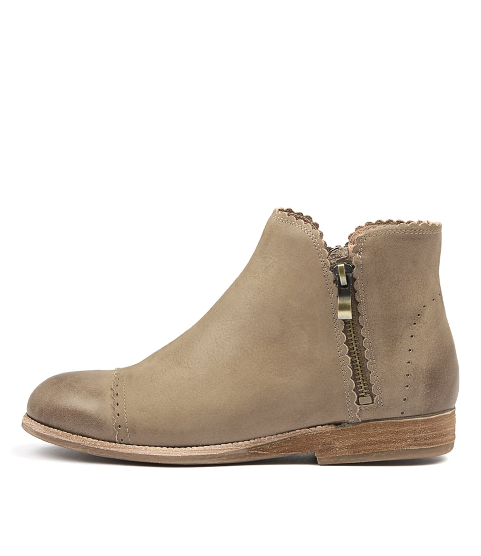 Photo of Silent D Apris Taupe Ankle Boots womens shoes