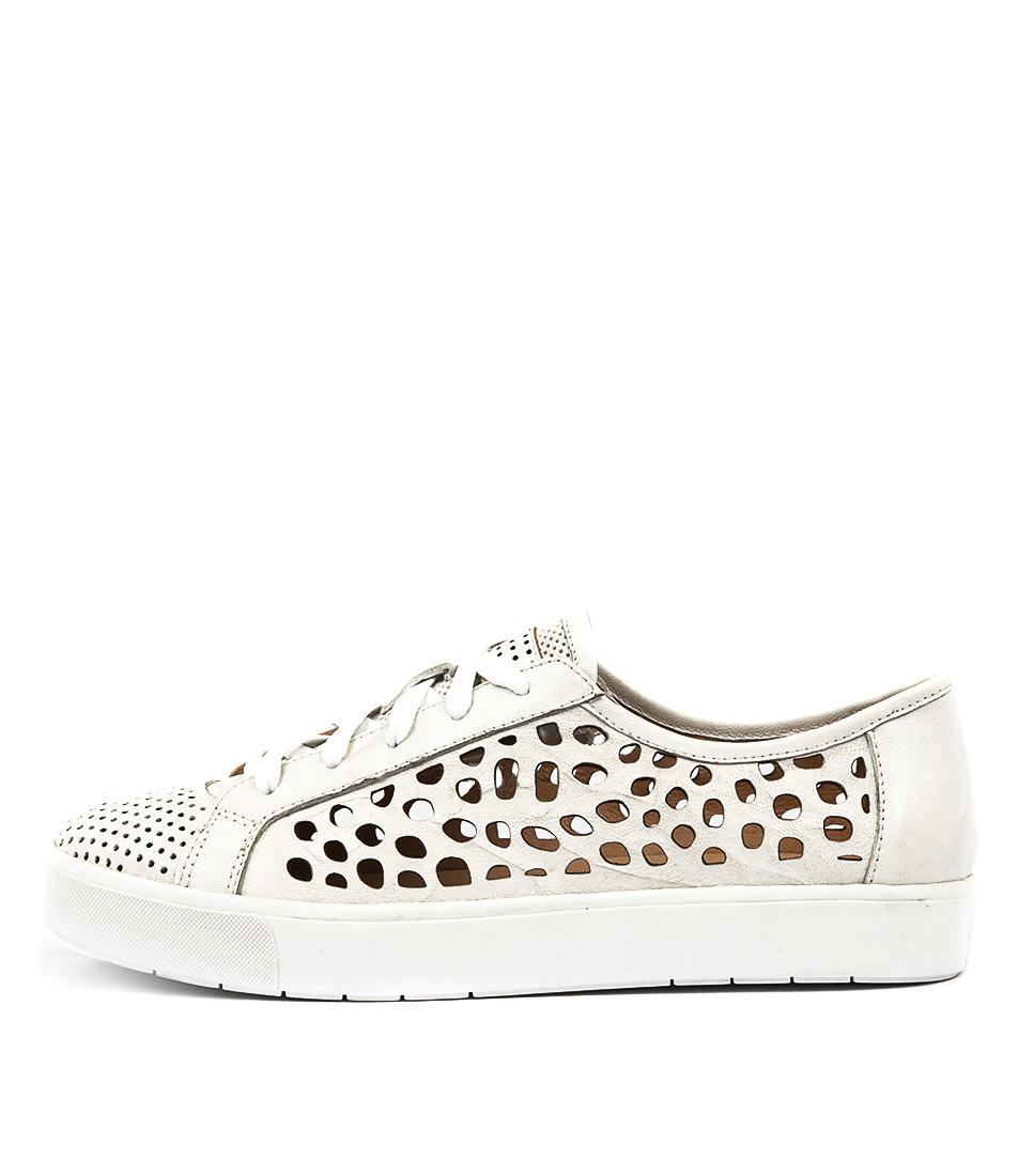 Silent D Vitro White Sneakers