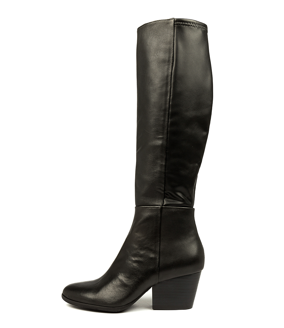 Buy Silent D Anopia Black Long Boots online with free shipping