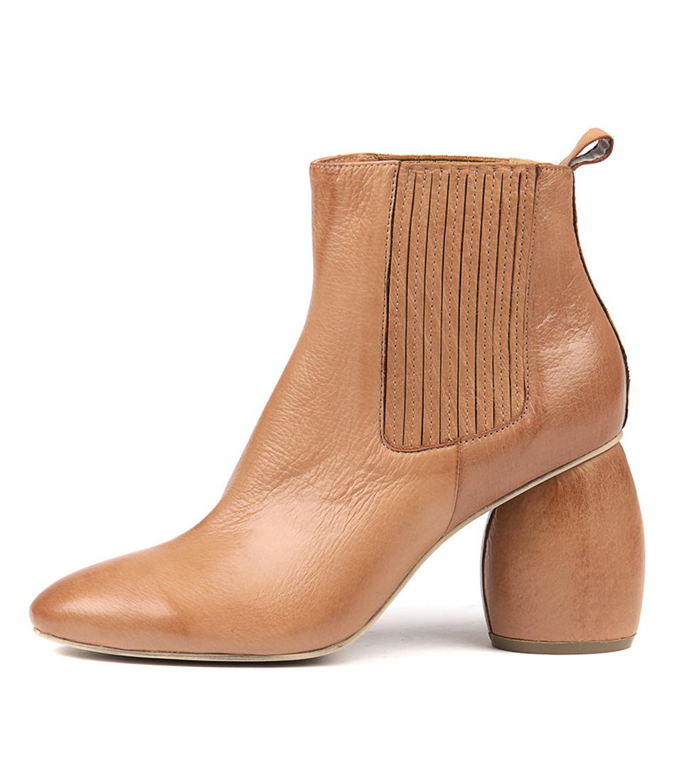 Silent D Dezzie Dk Tan Dk Tan Ankle Boots