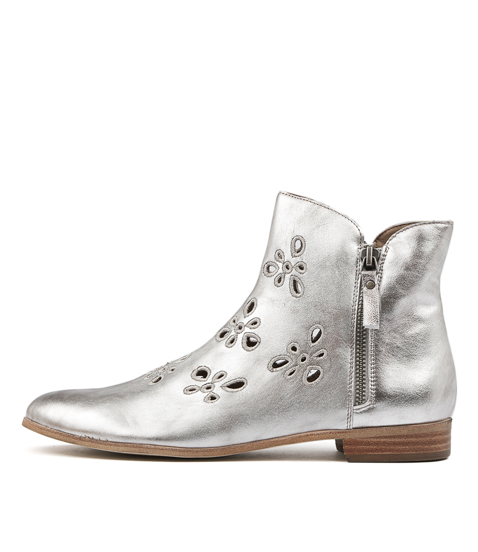 Silent D Grupa Lt Pewter Ankle Boots