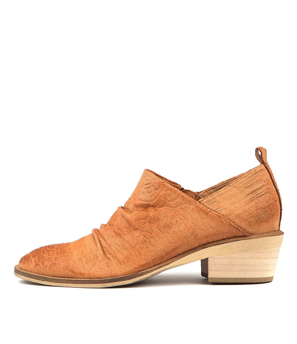 Silent D Hotel Dk Tan Heeled Shoes