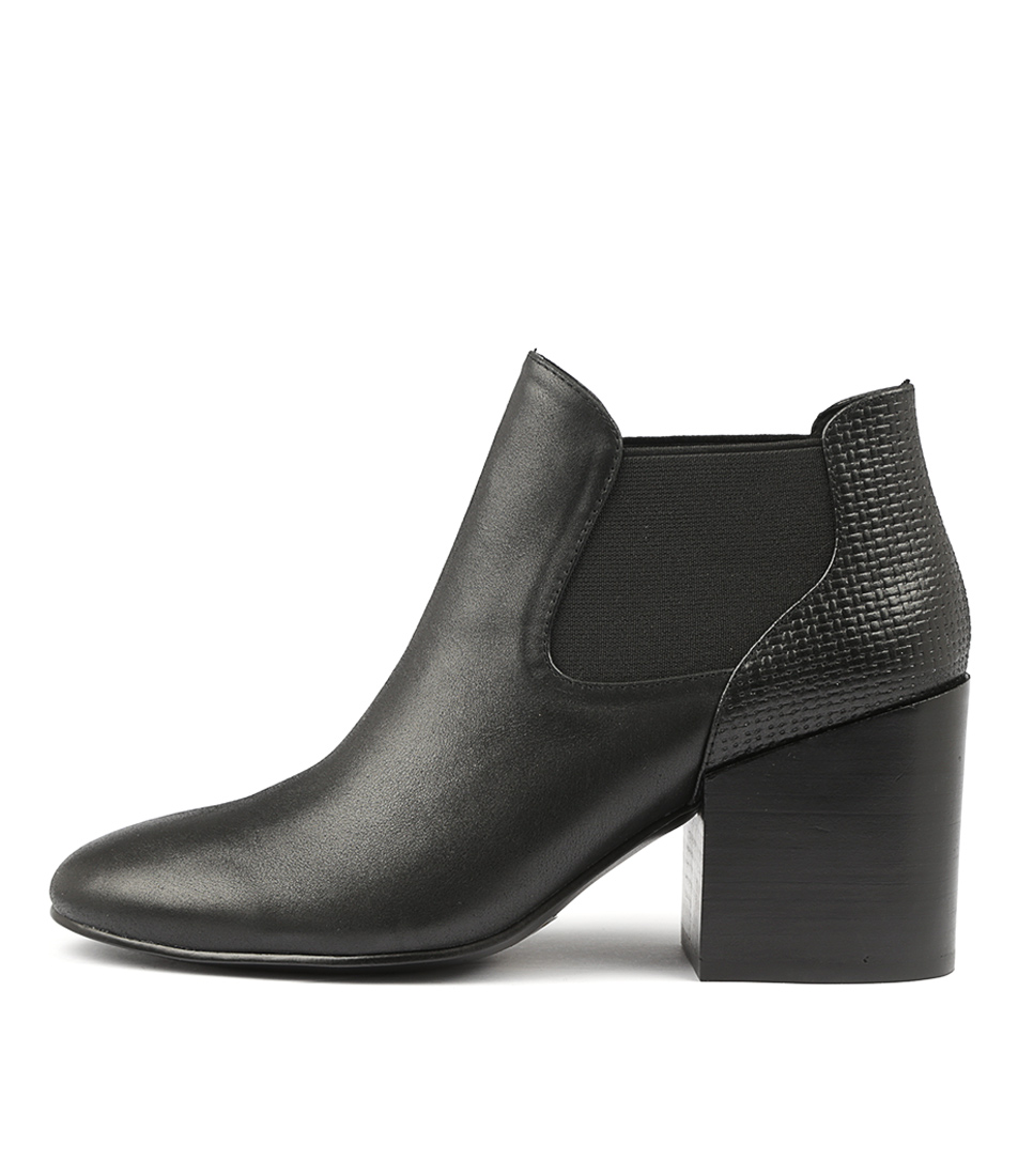 Silent D Wileys Black Ankle Boots