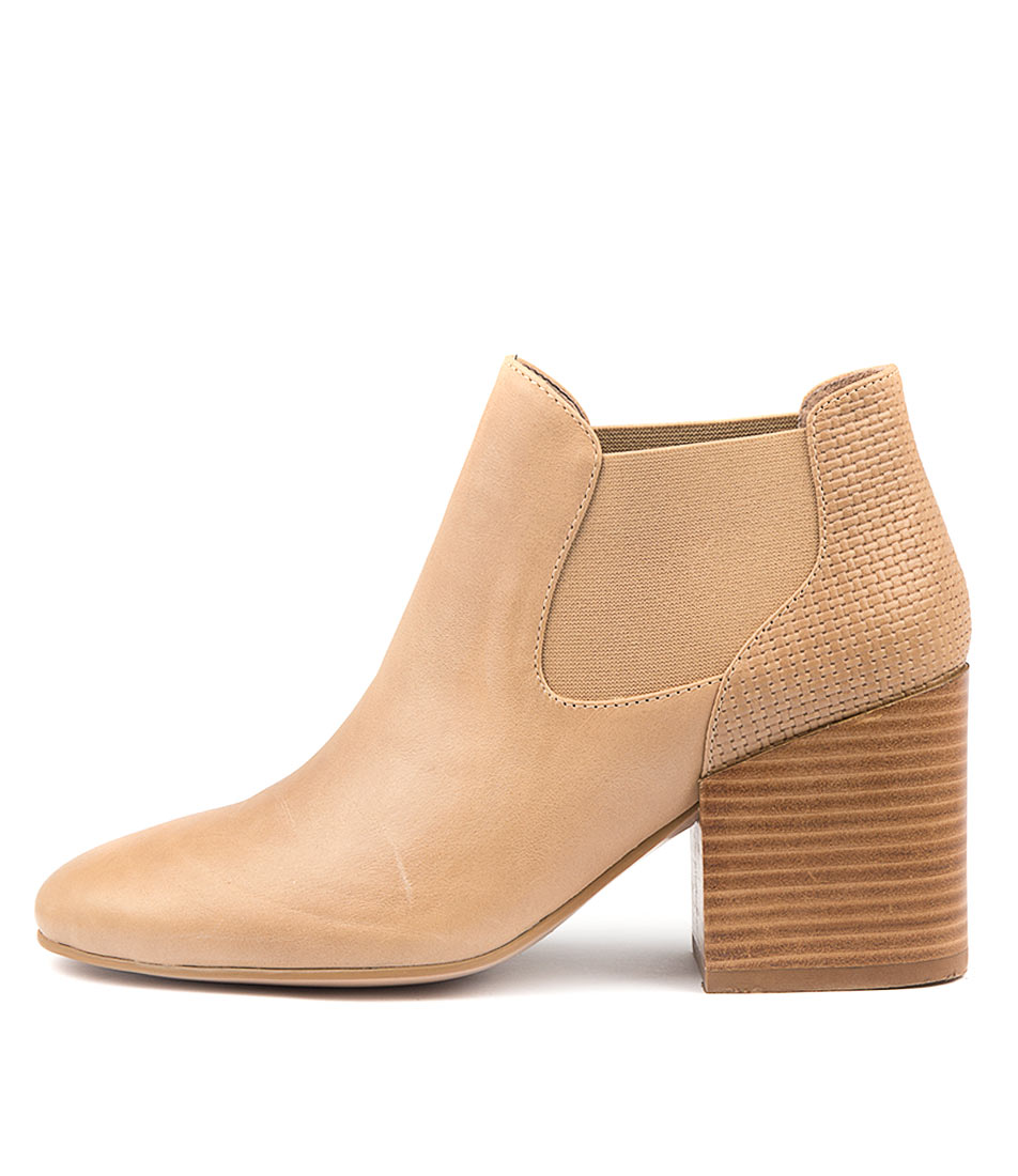 Silent D Wileys Latte Ankle Boots