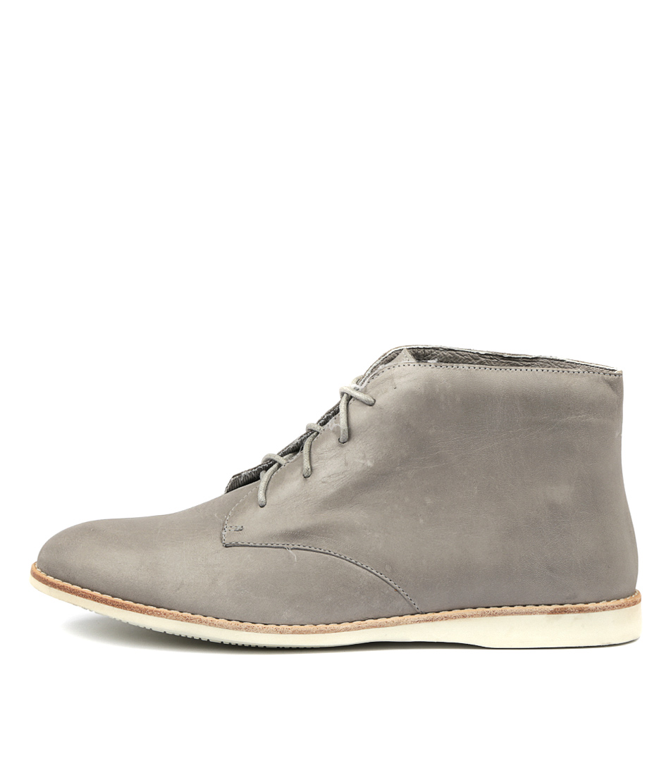 Silent D Neless Blue Grey Ankle Boots