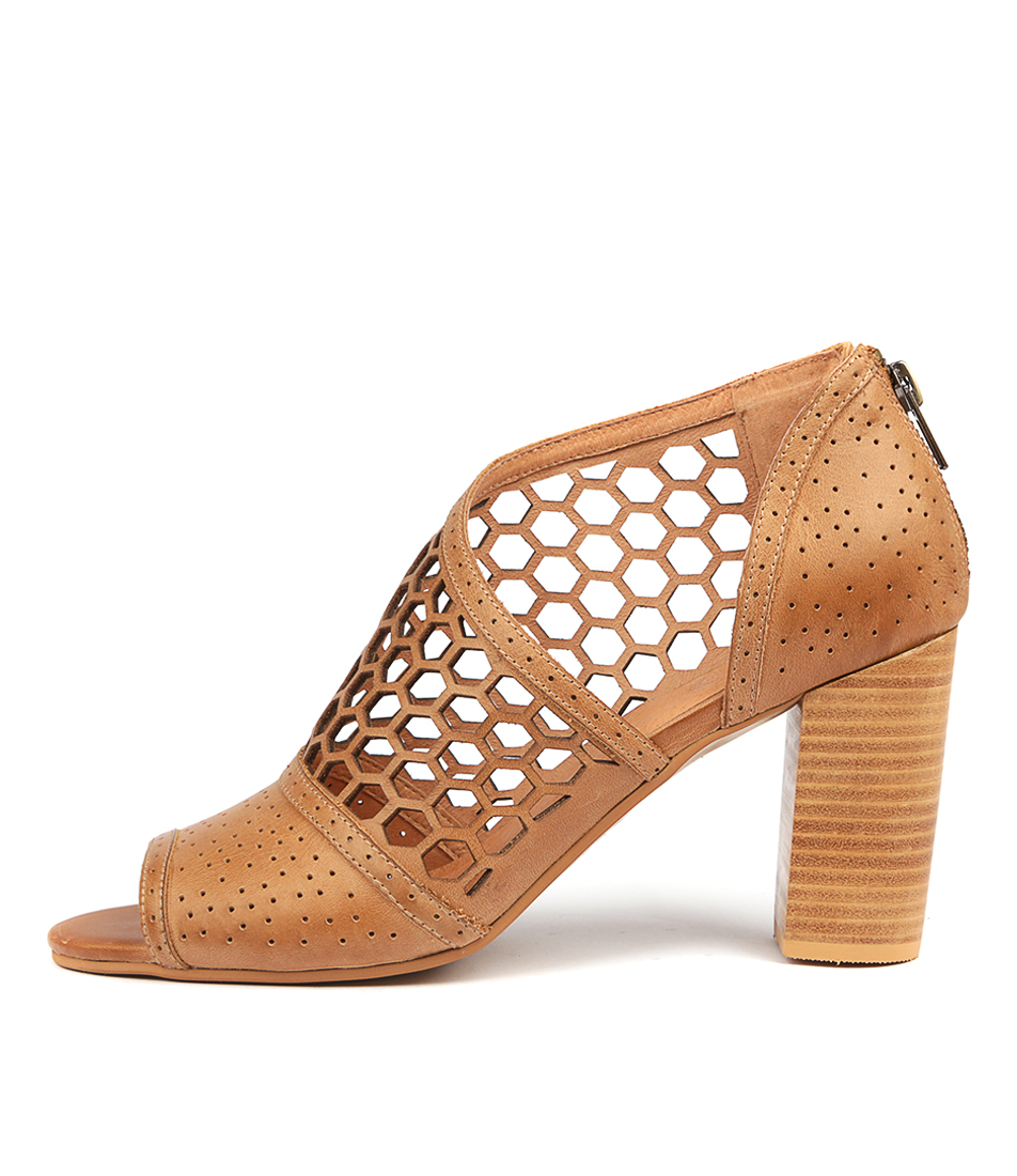 Buy Silent D Ceola Tan Heeled Sandals online with free shipping