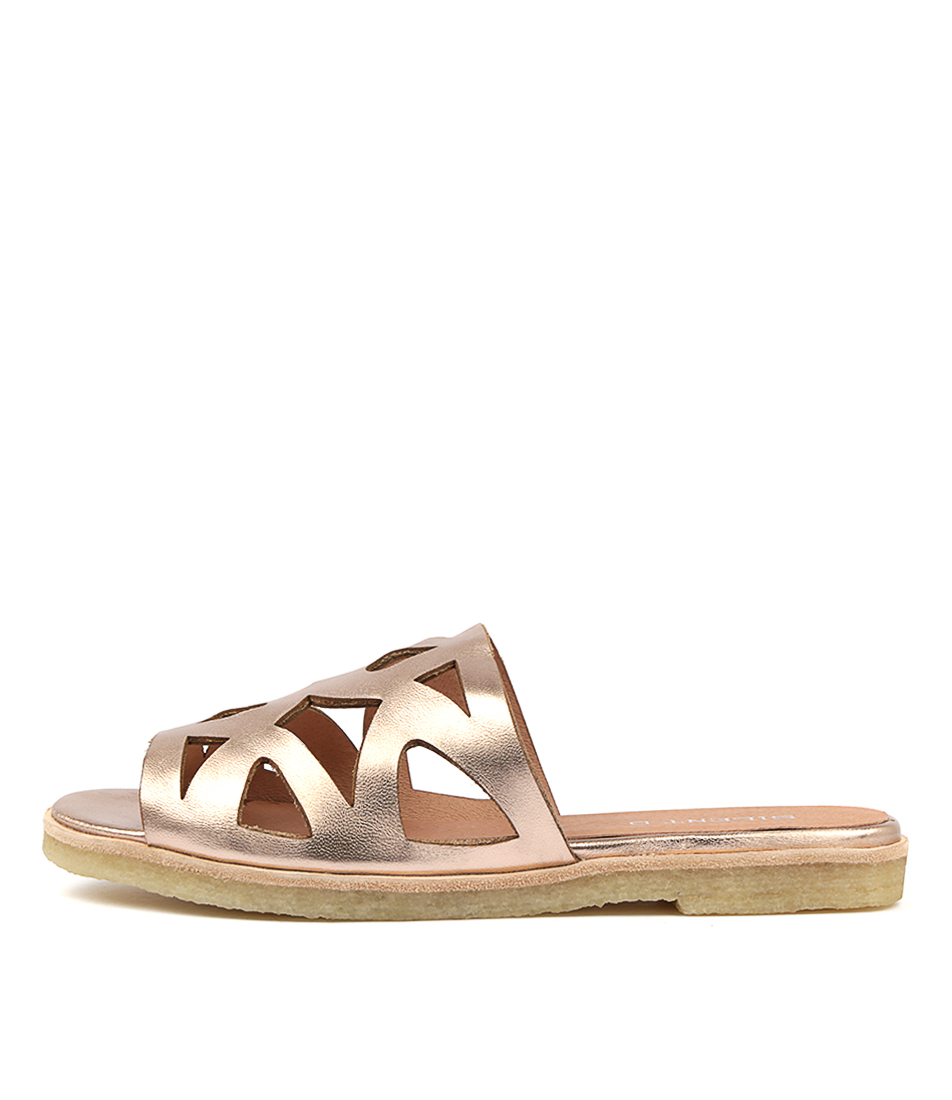 Buy Silent D Jessy Rose Gold Flat Sandals online with free shipping