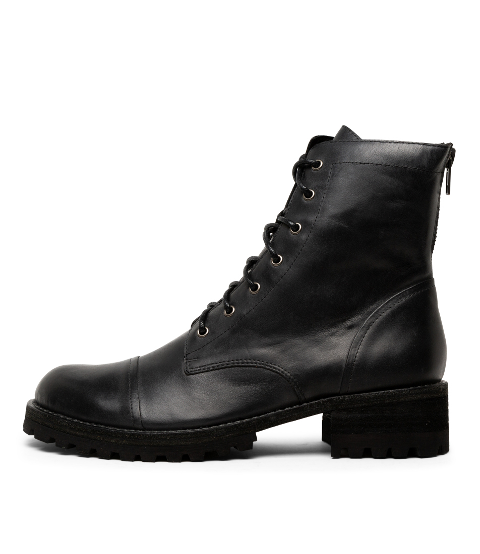 Buy Silent D Cassie Black Ankle Boots online with free shipping