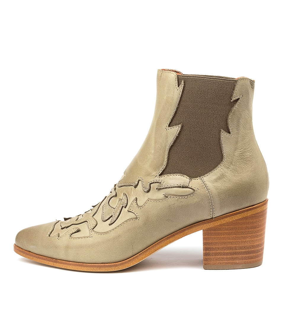 Buy Silent D Effa Olive Ankle Boots online with free shipping