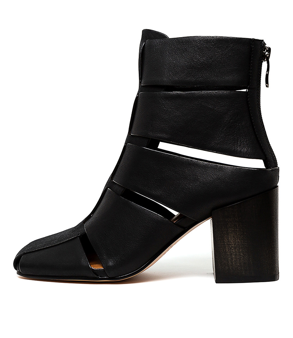 Buy Silent D Sergio Black Ankle Boots online with free shipping