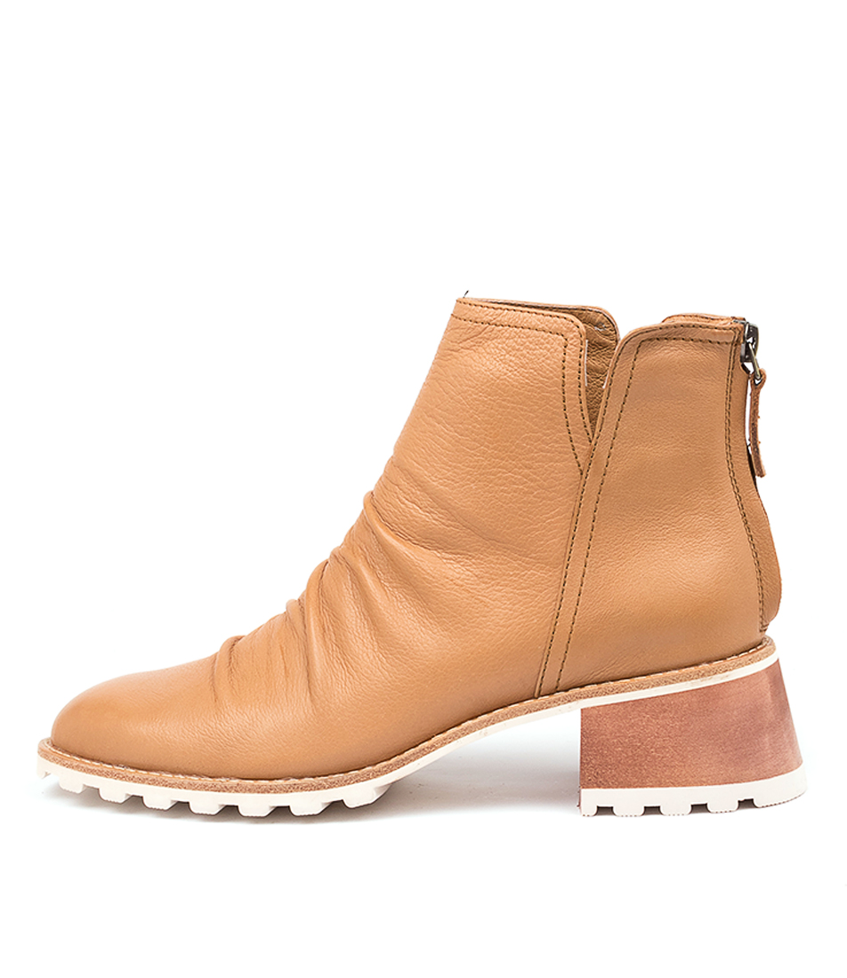 Buy Silent D Tasha Dk Tan Ankle Boots online with free shipping