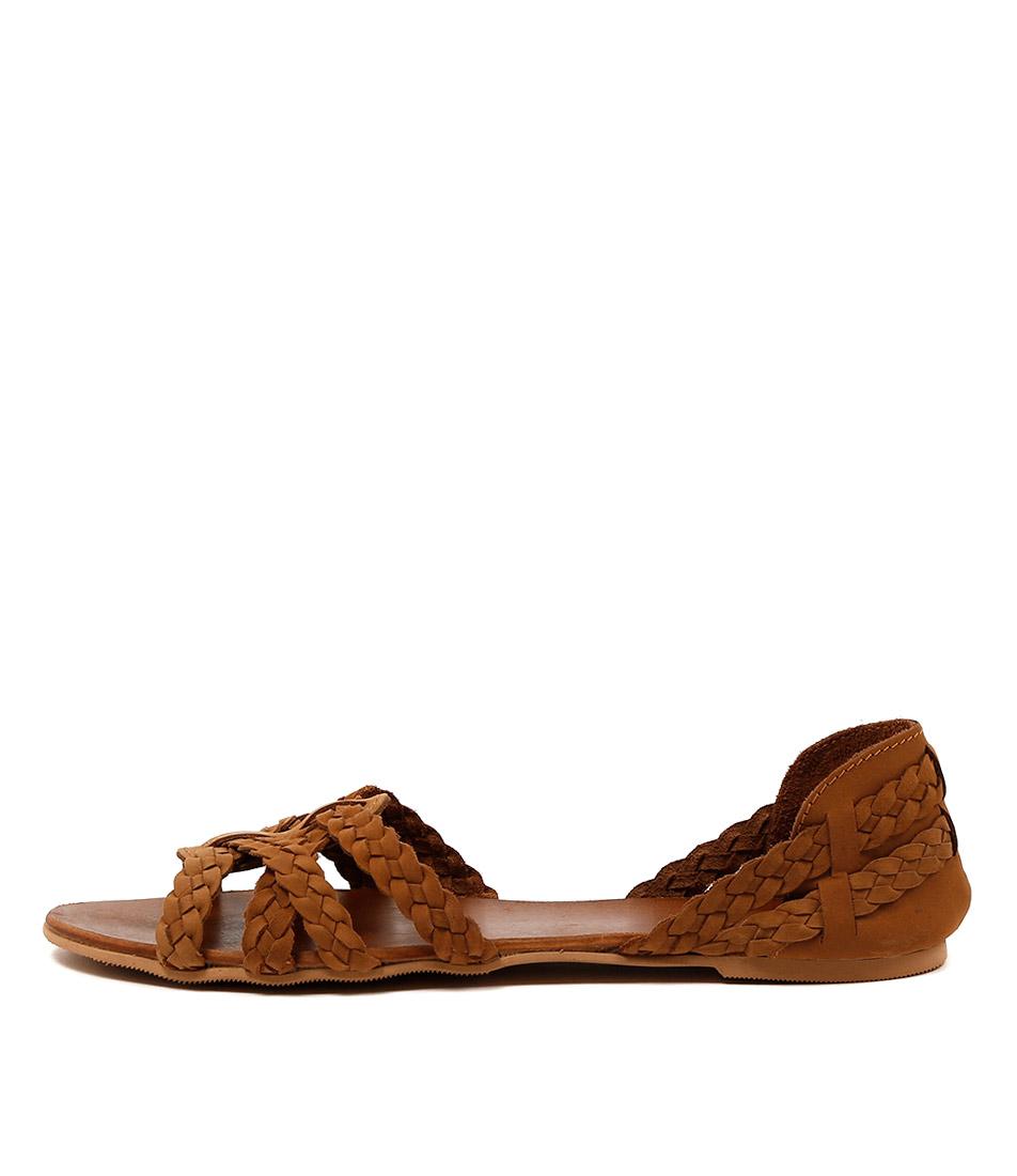 Mollini Shawn Tan Casual Flat Sandals