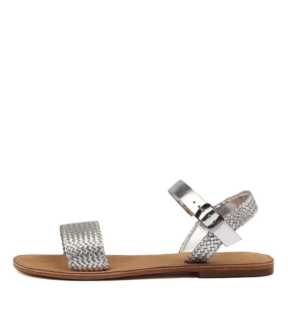 Siren Bocca SilverFlat Sandals