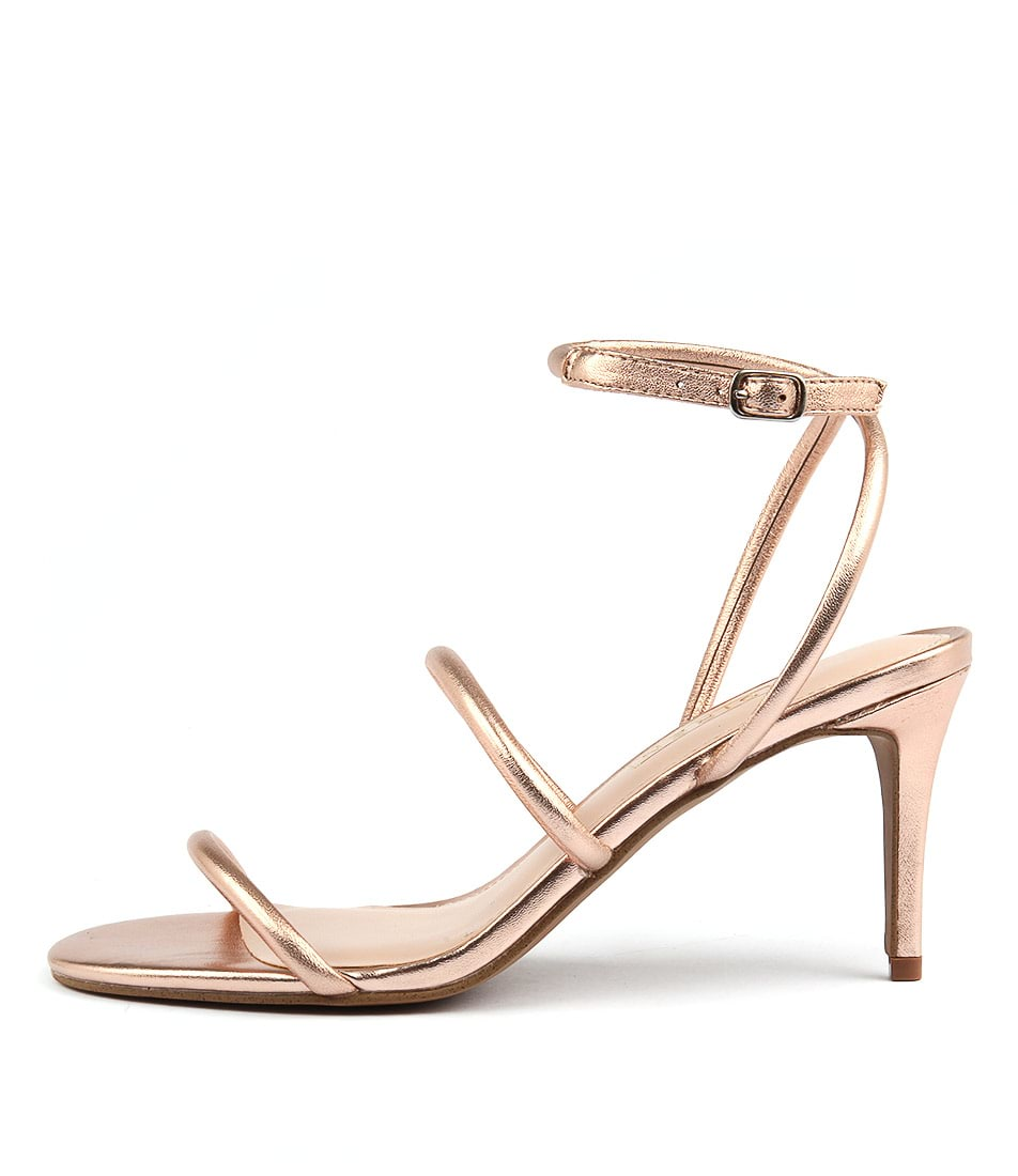 Photo of Siren Celestine Rose Gold Sandals, shop Siren heels online