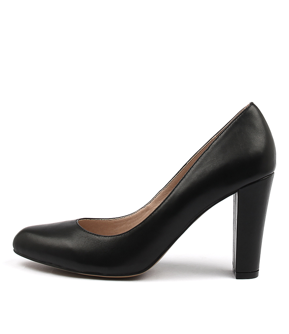 Siren Louie Si Black Casual Heeled Shoes