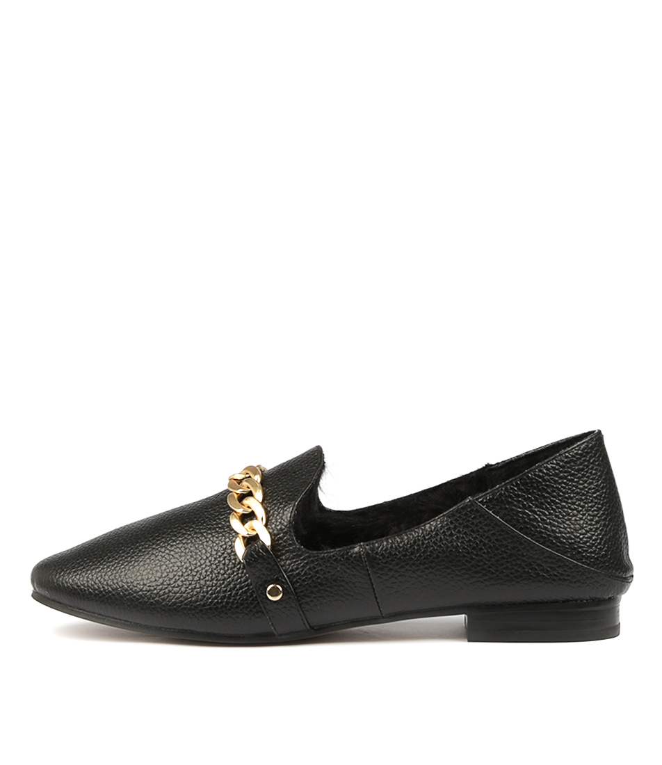 Photo of Siren Asher Si Black Dress Flats, shop Siren heels online