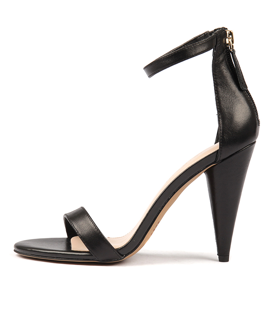 Photo of Siren Emerson Black Sandals, shop Siren heels online