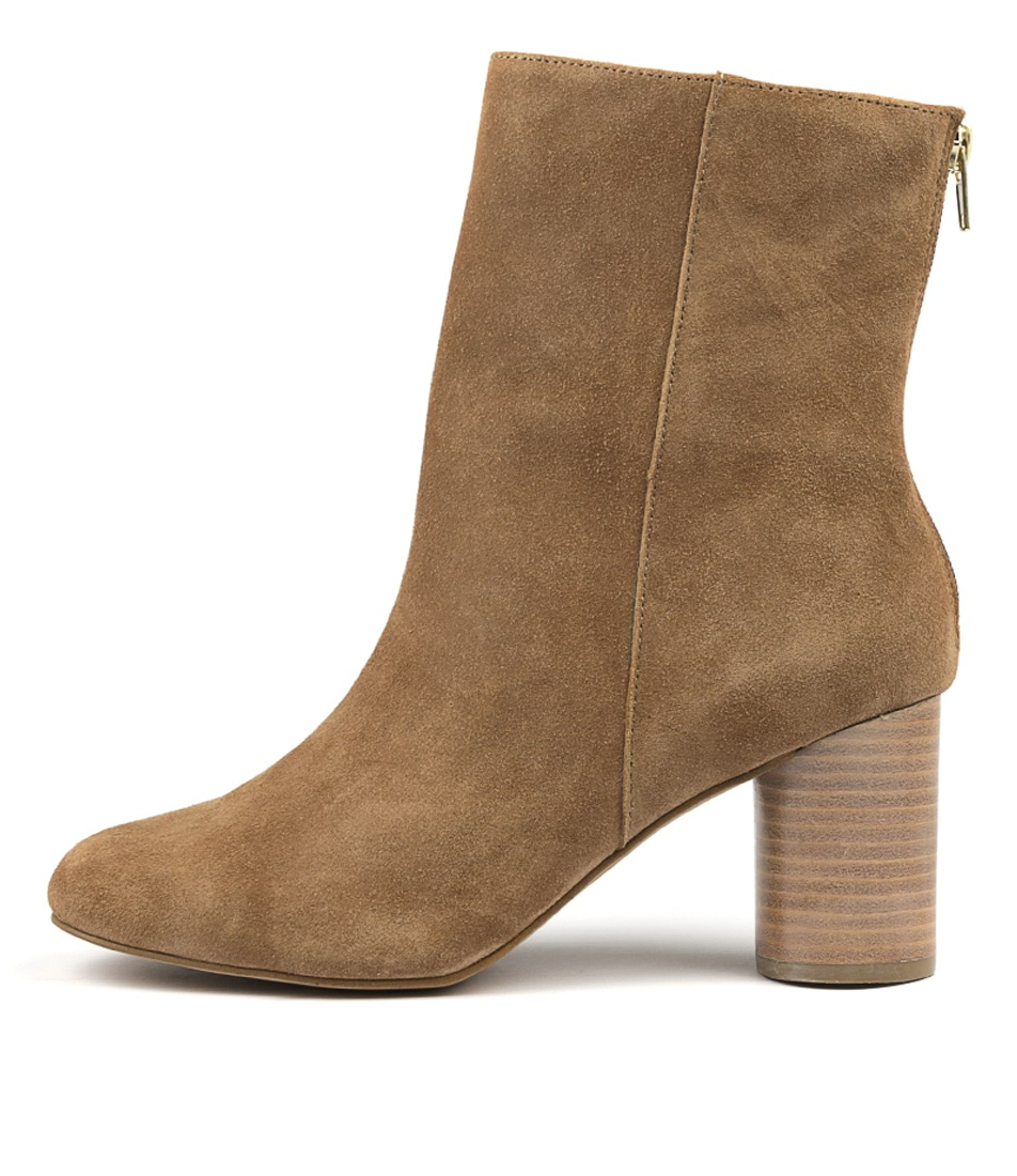 Photo of Siren Prince Si Taupe Ankle Boots, shop Siren heels online