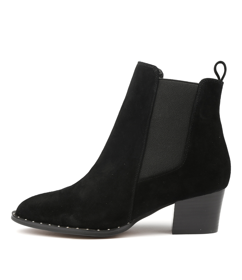 Photo of Siren Sage Si Black Ankle Boots womens shoes
