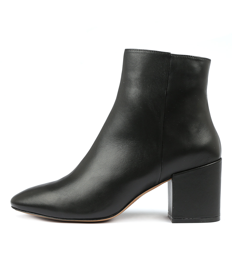 Siren Soldier Black Ankle Boots