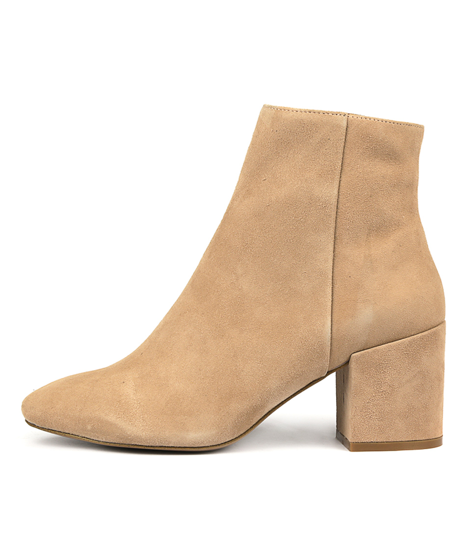 Siren Soldier Seashell Ankle Boots