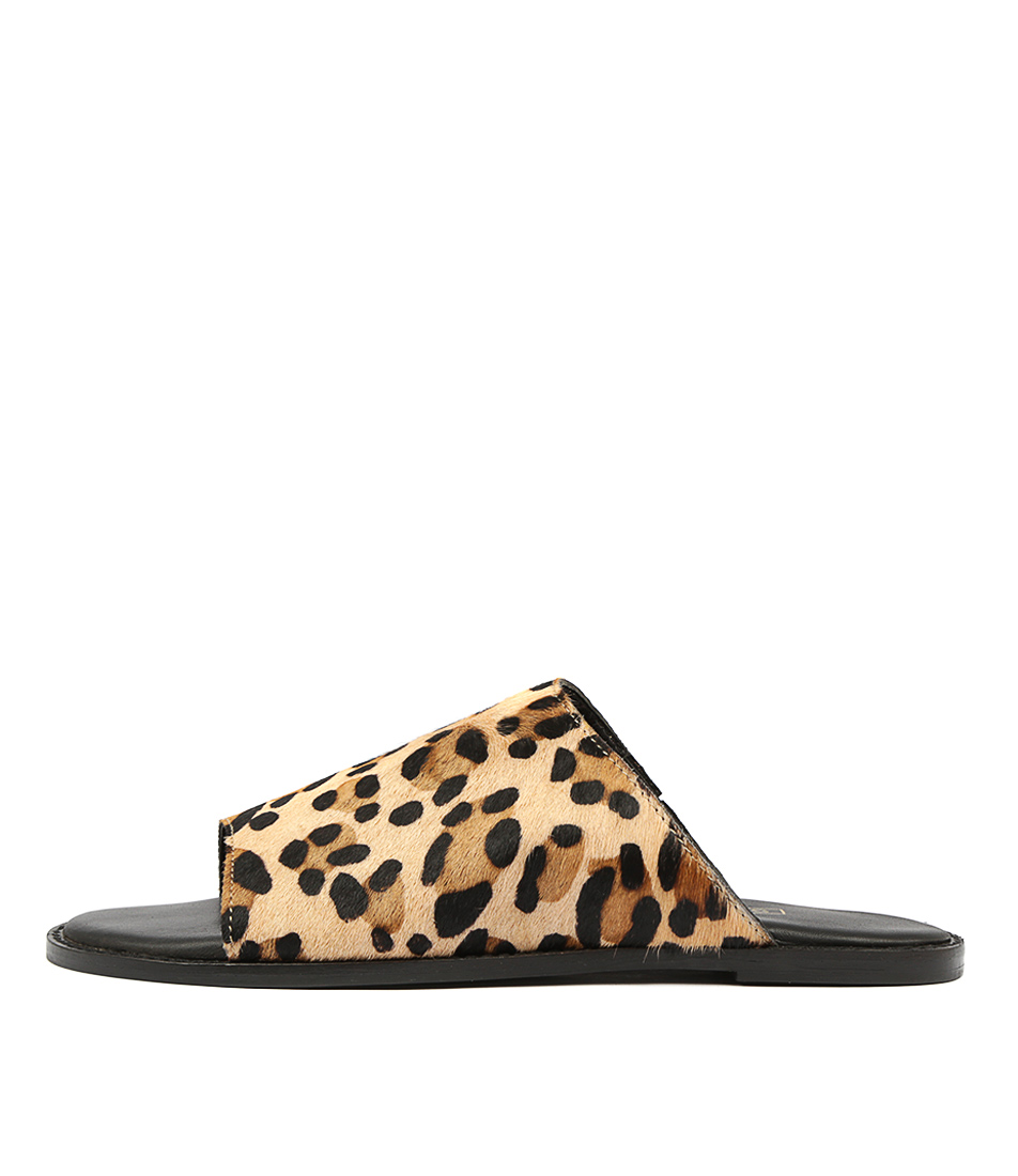 Buy Siren Tracee Ocelot Flat Sandals online with free shipping