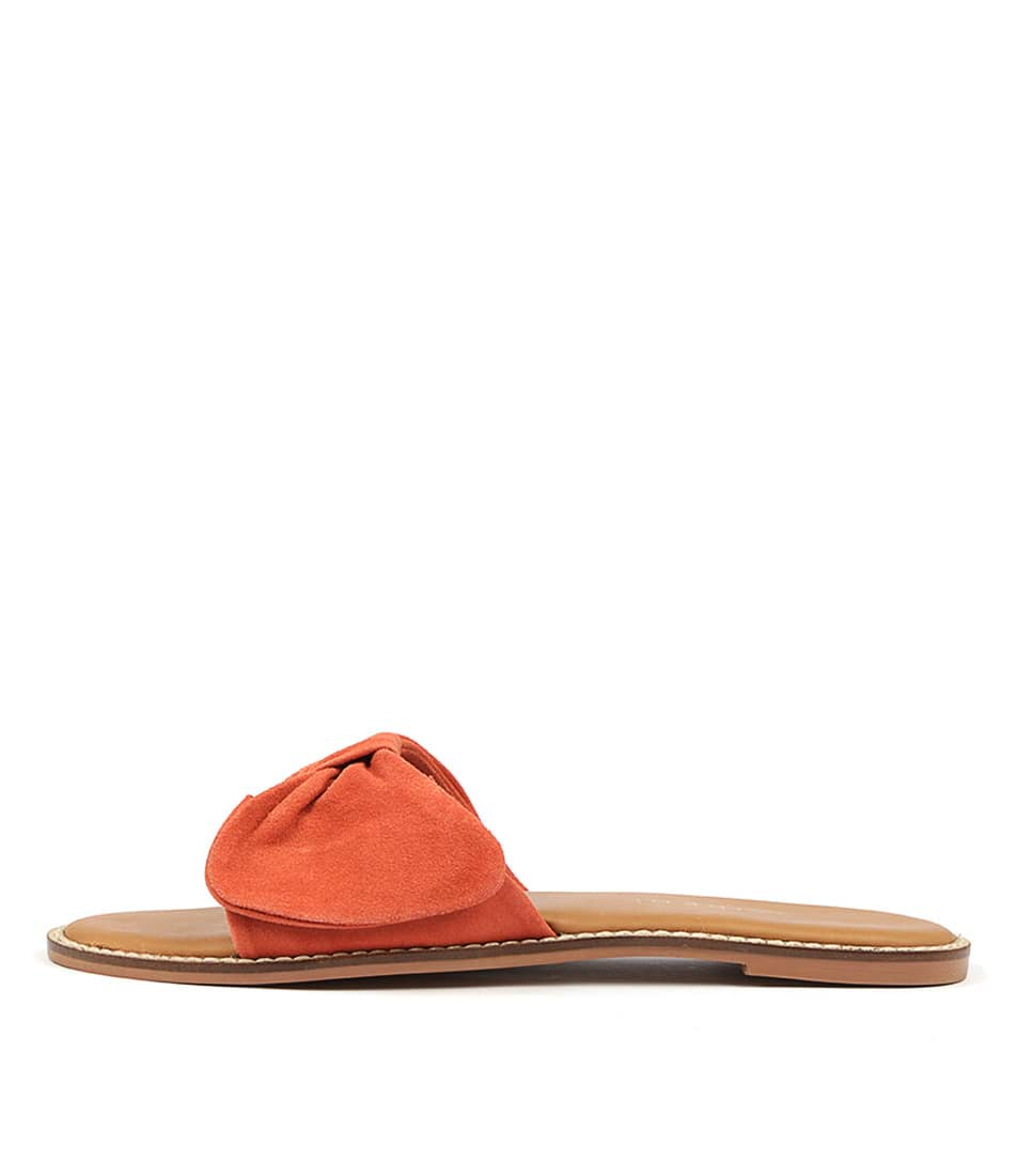 Buy Siren Tremont Si Coral Flat Sandals online with free shipping