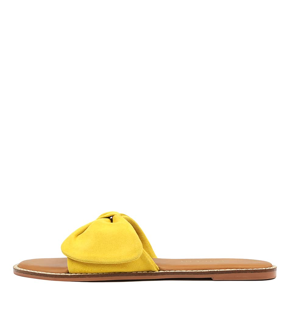 Buy Siren Tremont Si Yellow Flat Sandals online with free shipping