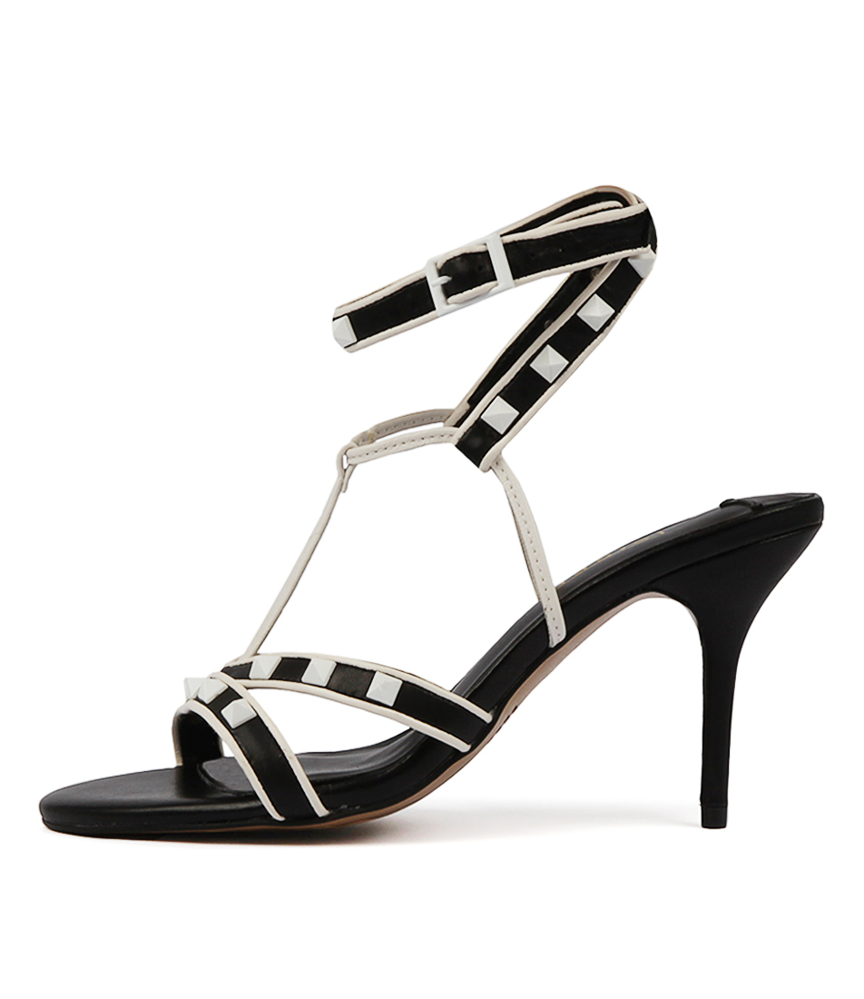 Buy Siren Declan Black Heeled Sandals online with free shipping