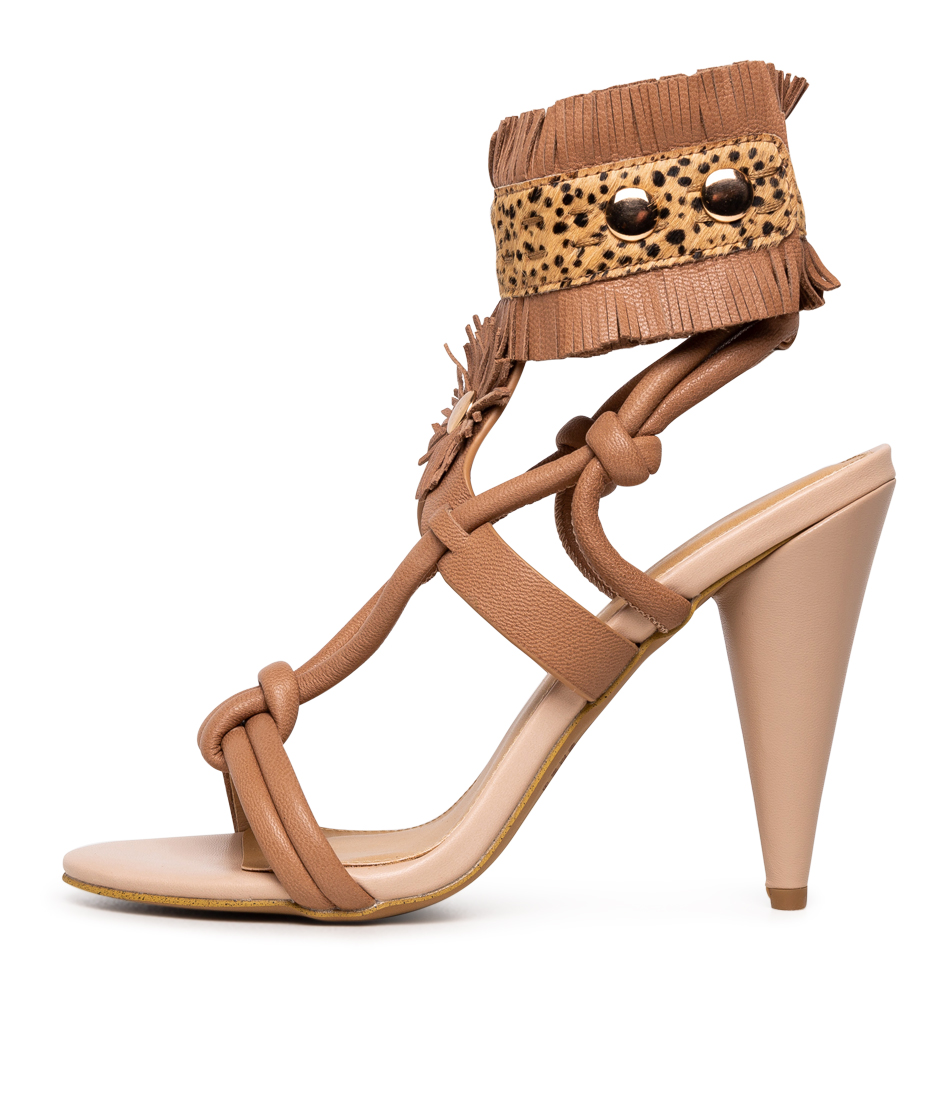 Buy Siren Emerald Si Camel Heeled Sandals online with free shipping