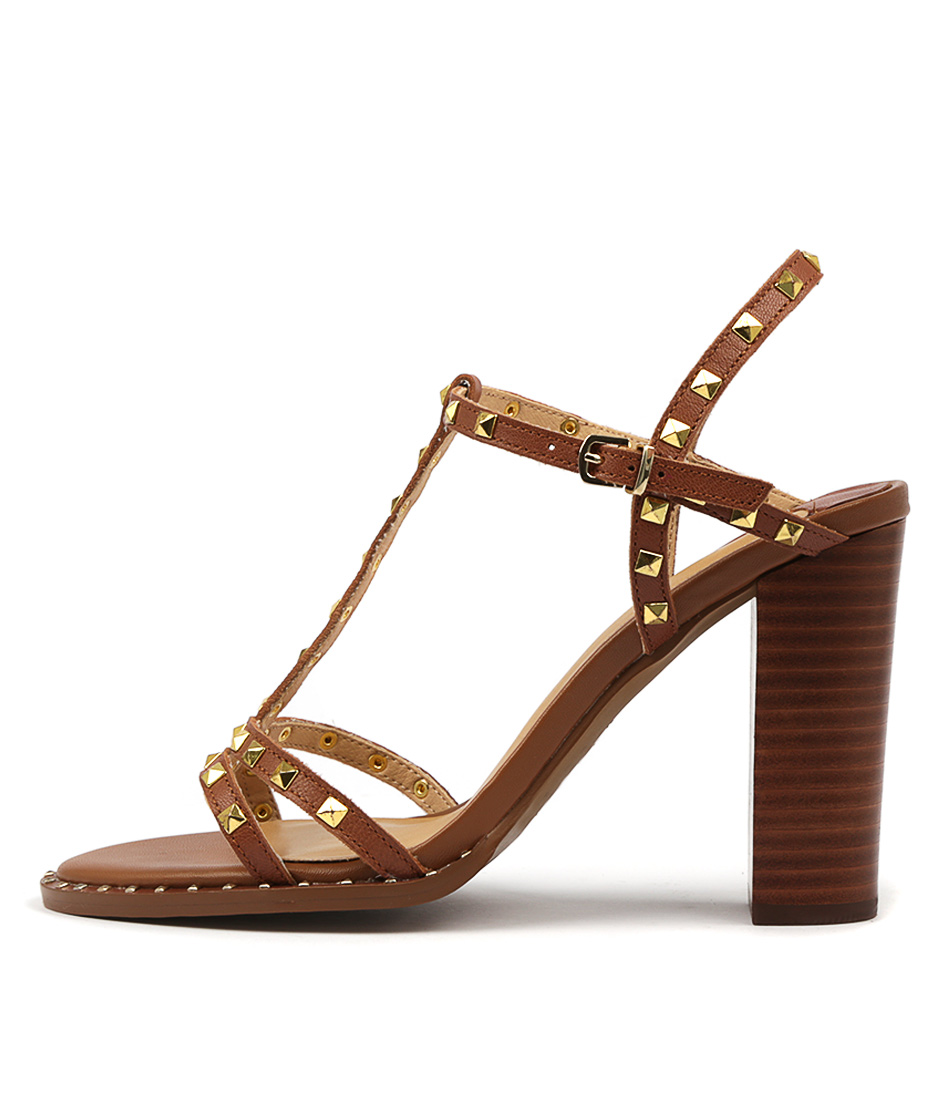 Buy Siren Jaime Si Tan Heeled Sandals online with free shipping
