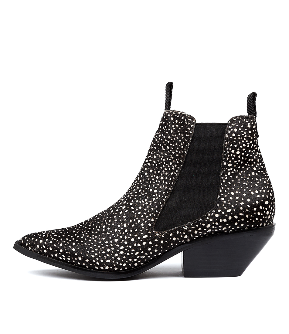 Buy Siren Nara Si Spotted Panther Ankle Boots online with free shipping