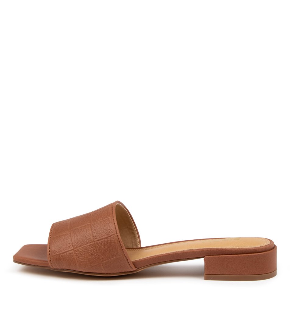 Buy Siren Jeri Si Tan Heeled Sandals online with free shipping