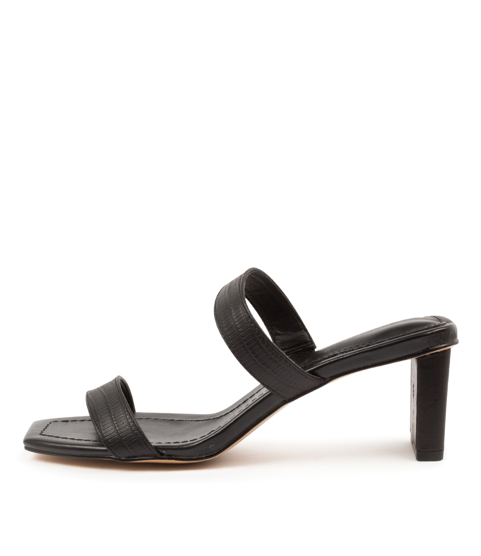Buy Siren Parker Si Black Heeled Sandals online with free shipping
