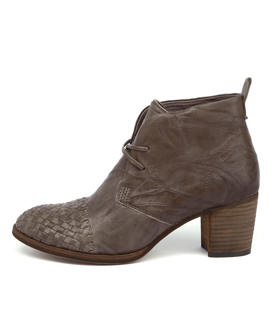 Silent D Waldo Dark Taupe Ankle Boots